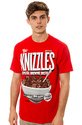 Men's The Knizzles Tee in Red, T-shirts