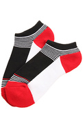 Men's The Down From Earth No Show Socks in Black,