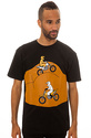 Men&#39;s The Road Rash Tee in Black, T-shirts