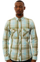Men's The Beyond Buttondown Shirt in Powder Blue,