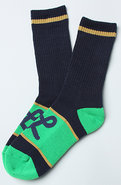 Men's The TS Crew Socks in Navy, Socks