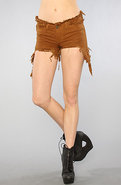 Women's The Drew Short in Brown, Shorts