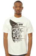 Men's The Crowbar Tee in White, T-shirts