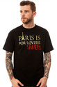 Men&#39;s The Paris Skates Tee in Black, T-shirts