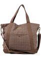 Men's The Alder Tote in Brown Houndstooth, Bags (M