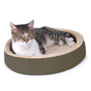 K&amp;H Pet Products Thermo-Kitty Cuddle Up Heated Bed