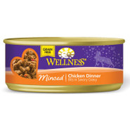 Wellness Can Cuts Minced Grain Free Cat Food