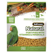 ZuPreem AvianMaintenance Natural for Parrots and C