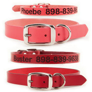 Coastal Pet Products Personalized Leather Collars