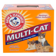 Arm &amp; Hammer Multi-Cat Clumping Cat Litter
