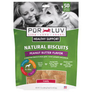 Pur Luv Healthy Support Peanut Butter Natural Bisc