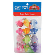 Grreat Choice Hard Mice Cat Toys