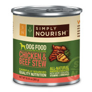 Simply Nourish Chicken &amp; Beef Stew Dog Food