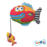 Toys R Us Pets Gurgle Fish w/Voice Chip