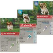 K9 AdvantixII For Dogs - 4 Pack