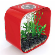 biOrb Life 30 Designer 8 Gallon Red Aquarium