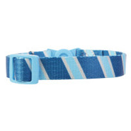 Whisker City Preppy Stripe Breakaway Cat Collar