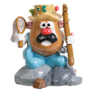 Top Fin&reg Hasbro Mr. Potato Head Fishing Aquariu