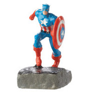 Top Fin&reg Marvel Captain America Aquarium Orname