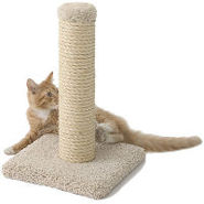 Deluxe Sisal Scratching Post by Miller's Cats
