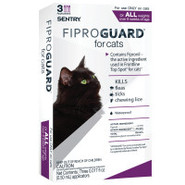 Fiproguard for Cats - 3-Pack