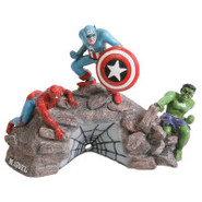Top Fin&amp;reg Marvel Rock Group Shot Aquarium Orname