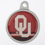 TagWorks Oklahoma Sooners Personalized Pet ID Tag