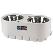Adjustable Storage Feeder from Our Pet's Company f