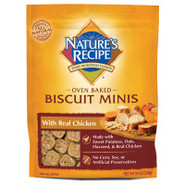 NATURE'S RECIPE Chicken Biscuits Mini Dog Treats