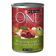 Purina ONE Wholesome Lamb & Long Grain Rice Entre