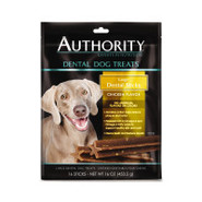 Authority Dental Dog Treats Large Dental Sticks Ch