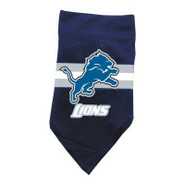 Detroit Lions Dog Collar Bandana