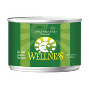 Wellness Lamb &amp; Sweet Potato Canned Dog Food