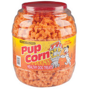 Pupcorn Cheese Flavored Dog Treats