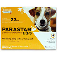 PARASTAR Plus for Dogs 3pk