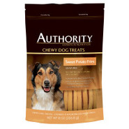 Authority Sweet Potato Fries Dog Treats