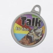 TagWorks Personalized Dome   Talk to the Paw   Pet