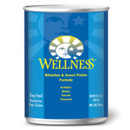 Wellness Whitefish &amp; Sweet Potato Canned Dog Food