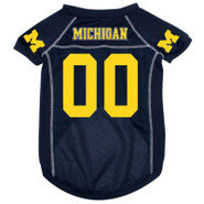 Michigan Wolverines Premium Pet Football Jersey