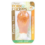 Premium Pork Chomps Chicken-Wrapped Knotz Dog Trea