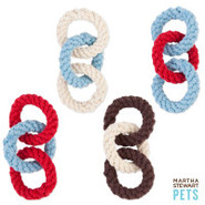 Martha Stewart Pets 3-Ring Rope Toy