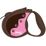Flexi tickled Pink Retractable Dog Leash