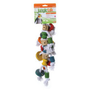 Jungle Talk Knotrageous Bird Toy