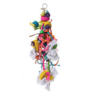 Calypso Creations Caterpillar Bird Toy