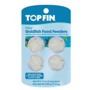 Top Fin Goldfish 3-Day Fish Food Feeders