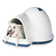 Indigo Dog Igloo-Style Dog House by Doskocil