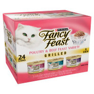 Fancy Feast 3-Flavor Grilled Gourmet Cat Food Vari