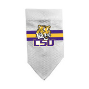 LSU Tigers Official Dog Collar Bandana