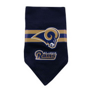 St. Louis Rams Dog Collar Bandana