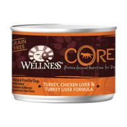 Wellness CORE Grain Free Turkey, Chicken Liver &amp; T